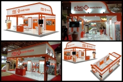 King-flower-booth